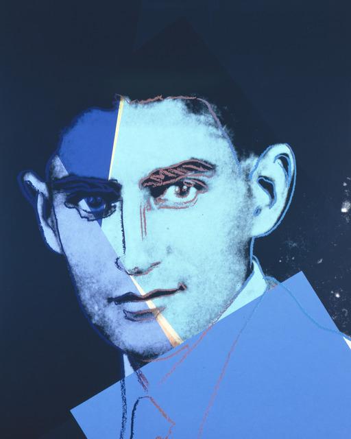 "Andy Warhol, 'Franz Kafka from ""Ten Portraits of Jews of the Twentieth Century"" portfoliio', 1980, Ronald Feldman Gallery"