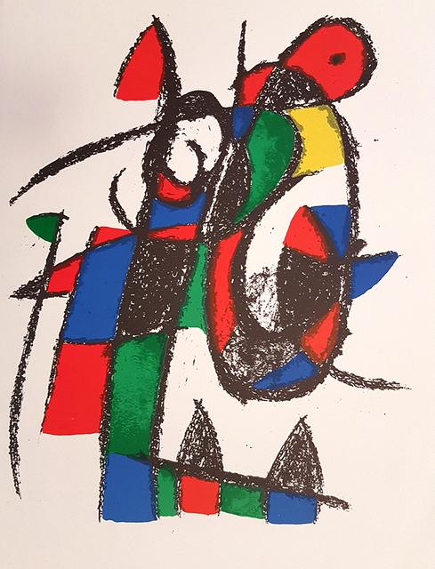 Joan Miró, 'Mirò Lithographe II - Plate II', 1975, Wallector