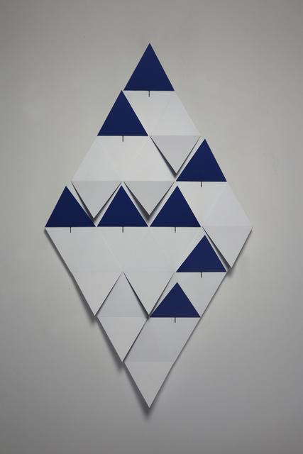 , 'origamiRhombi,16 rhombis,' 2018, Dan Galeria