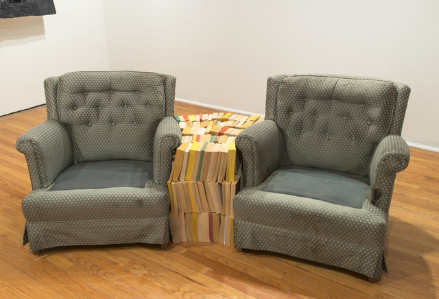 Rodney McMillian, 'Chairs and Books', 2004, The Studio Museum in Harlem