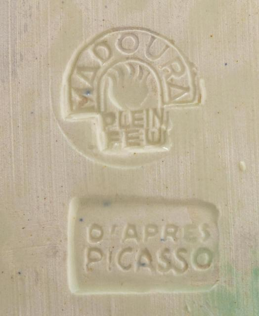 Pablo Picasso, 'Nature Morte', 1953, Design/Decorative Art, White earthenware ceramic plate, partially engraved, with colored engobe and glaze, Hindman