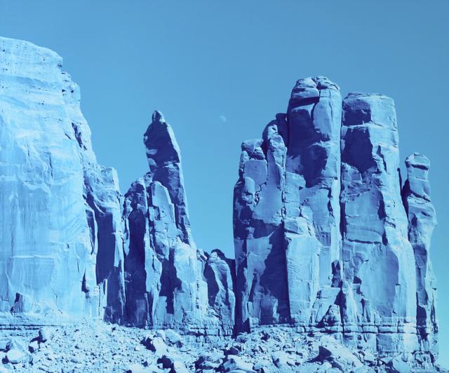 , 'Moon Over Rocks, Monument Valley, Arizona,' 2013, Salon 94