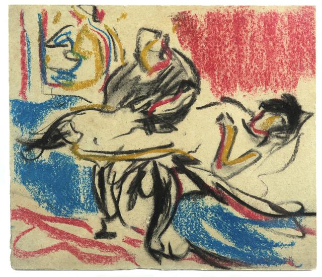 , 'Boudoir-Szene,' ca. 1908, Galerie Utermann
