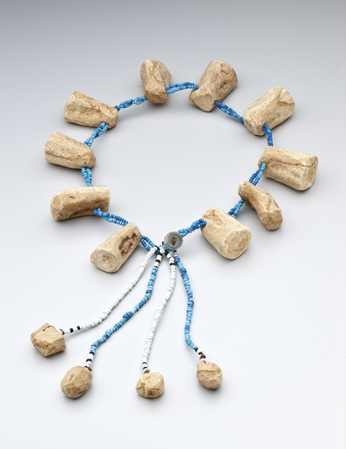 , 'Necklace for a nursing mother; South Africa; Xhosa,' ca. 20th century , Newark Museum