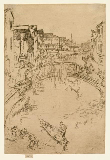 , 'The Bridge, Santa Maria,' 1879, Harris Schrank Fine Prints