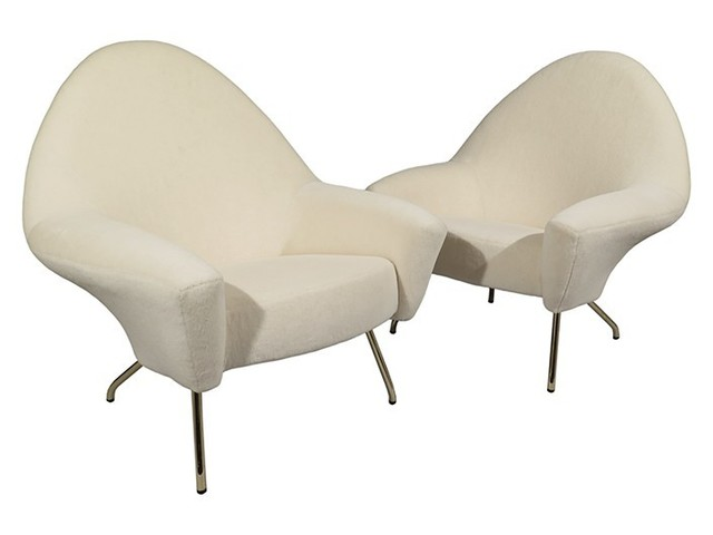, 'Pair of Model 770 Armchairs by Joseph-Andre Motte,' ca. 1958, Portuondo
