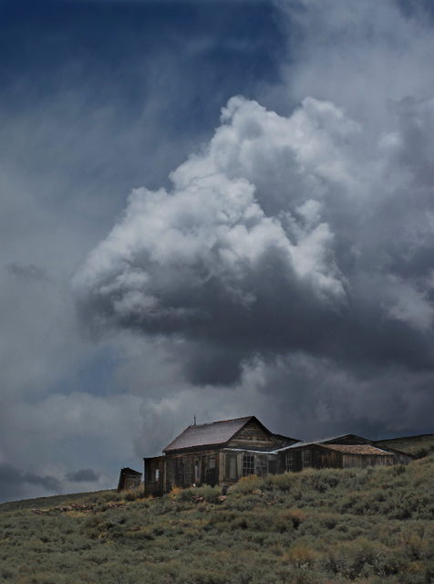 , 'Storm Clouds Over Bodie Ghost Town,' , Tim Collom Gallery