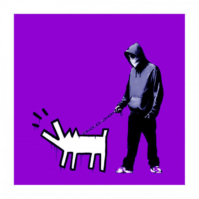 Banksy, 'Choose Your Weapon (Purple)', 2010, IFAC Arts