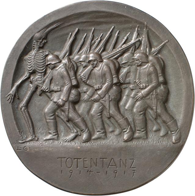 , 'Totentanz,' 1917, Bode Museum