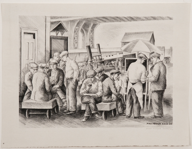 , 'Lunch Hour,' 1938, Sragow Gallery