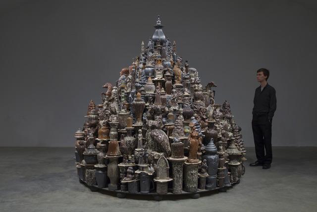 , 'A Theory of Everything - Black Stupa,' 2013, Cross Mackenzie Gallery