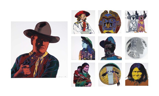 Andy Warhol, 'Cowboys and Indians', 1986, Christie's