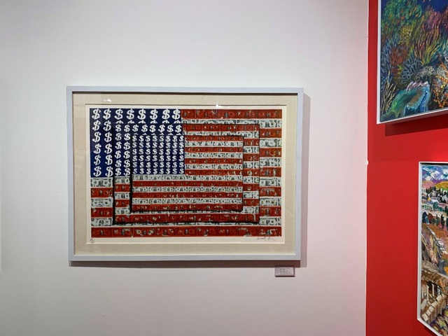 , ' Homenaje a Jasper Johns (Homage to Jasper Johns),' 2003, Alpha 137 Gallery