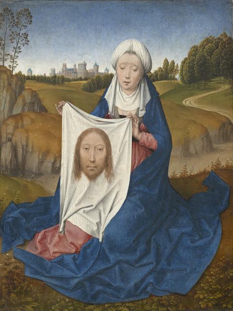 Hans Memling, 'Saint Veronica [obverse]', ca. 1470/1475, Painting, Oil on panel, National Gallery of Art, Washington, D.C.