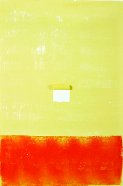 , 'YELLOW VS. ORANGE,' 2013, Siyah Beyaz Art Gallery
