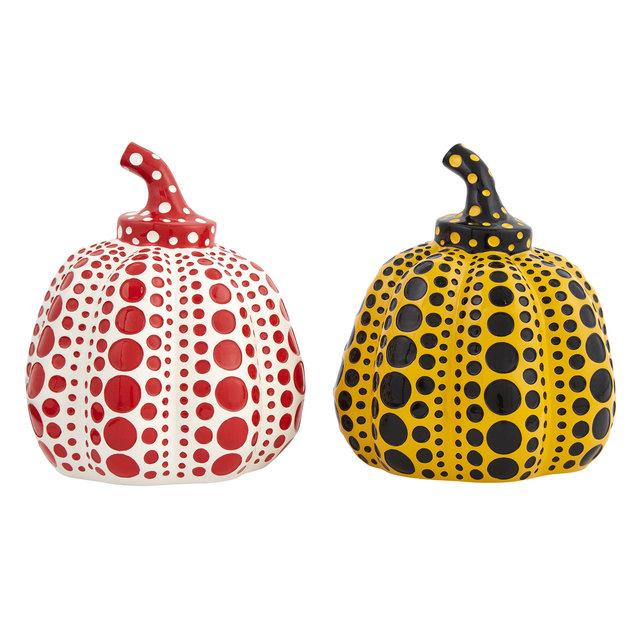Yayoi Kusama, 'Pumpkins (pair)', Doyle