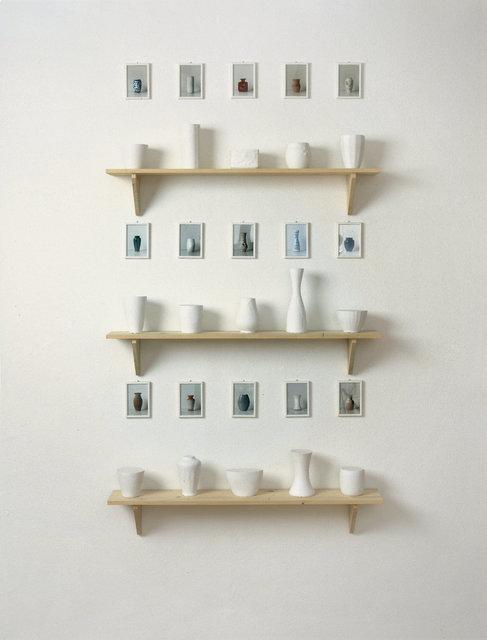 , 'Form und Inhalt (15 x 1 Liter),' 1982-1992, Wentrup