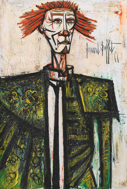 Bernard Buffet, 'Clown', 1966, Opera Gallery