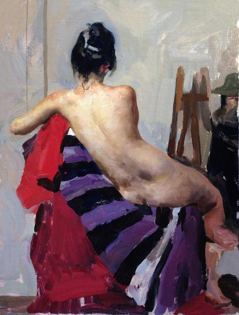 , 'Figure in Rome,' , Sirona Fine Art