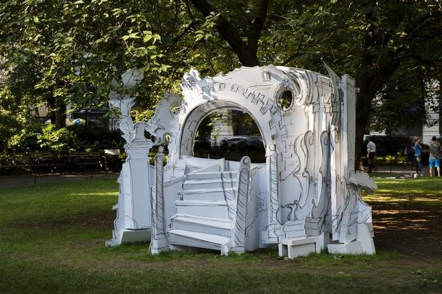 , 'Rococo Hut,' 2014, Madison Square Park