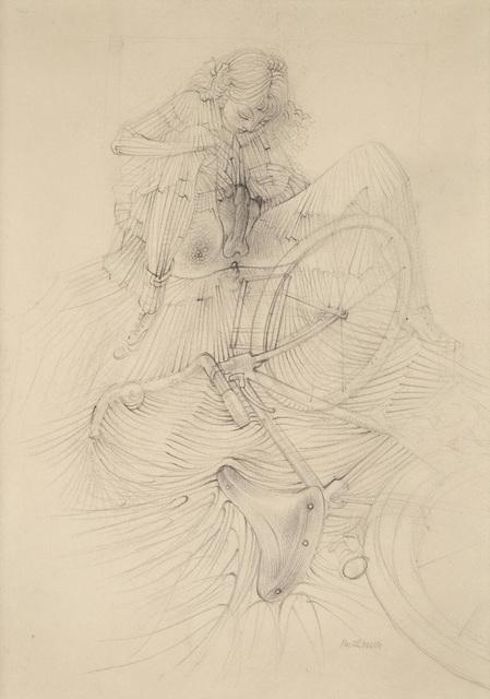 , 'Sans titre, étude pour 'La bicyclette' d'Histoire de l'Oeil,' ca. 1946, Galerie Natalie Seroussi