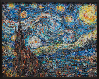 Vik Muniz, 'Starry Night, after Van Gogh from Pictures of Magazines 2,' 2012, Phillips: Photographs (April 2017)