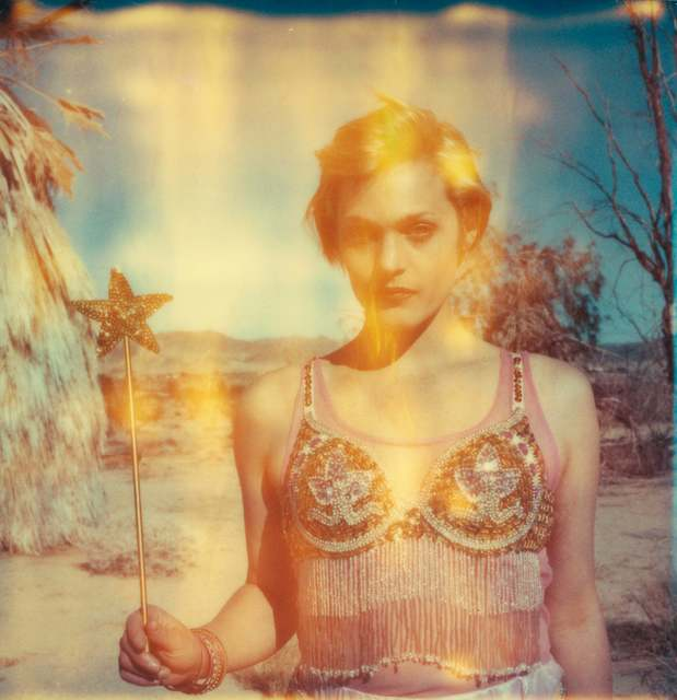 Stefanie Schneider, 'The Muse (29 Palms, CA) ', 2009, Photography, Analog C-Print, hand-printed by the artist on Fuji Crystal Archive Paper, based on a Polaroid, mounted on Aluminum with matte UV-Protection, Instantdreams