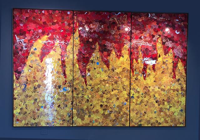 "Lev ""Lever"" Rukhin, 'Inferno', 2019, L'Atelier Ldep Concierge & Gallery"