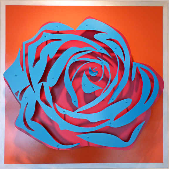 , 'Rose - Blue on Coral,' , FP Contemporary