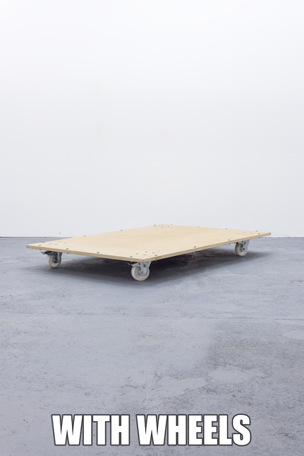 , 'THEY ARE THESE OR THEY MAYBE OTHERS / # WITH WHEELS,' 2014, L21