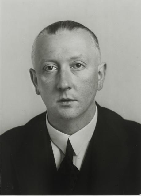 August Sander, 'Attorney and Art Collector [Josef Haubrich], c. 1931', Galerie Julian Sander