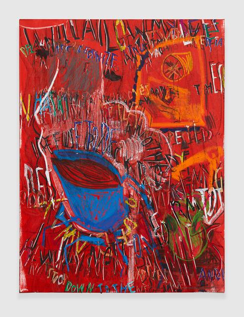 , 'RGB Affirmations (Red),' 2018, PRAZ-DELAVALLADE