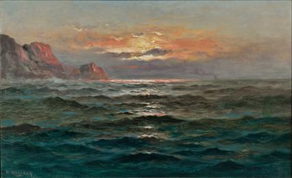 Coastal View at Sunset