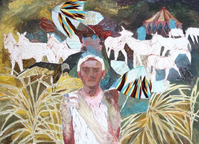 , 'El rey bufón y su halcón,' 2018, Galeria Contrast