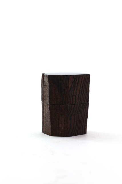 Jihei Murase, 'Hatchet shaved keyaki (zelkova) tea caddy', 2017, Ippodo Gallery