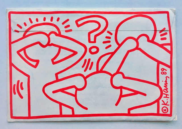 Keith Haring, 'Act Up mailer', 1989, Gallery 52