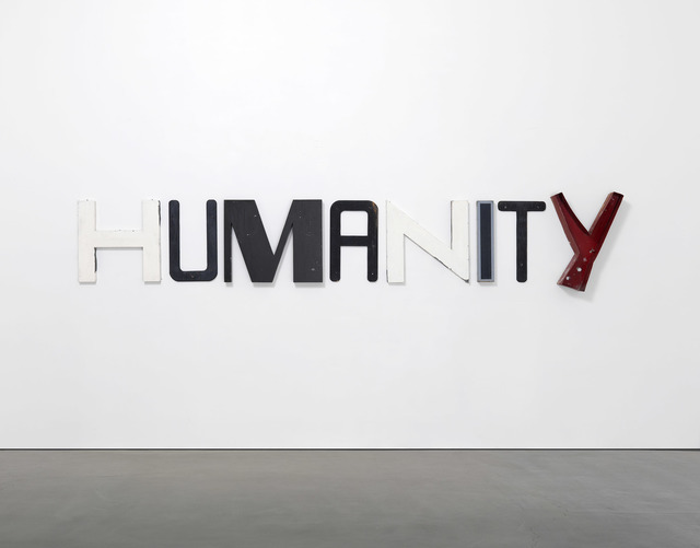 , 'HUMANITY,' 2017, Regen Projects