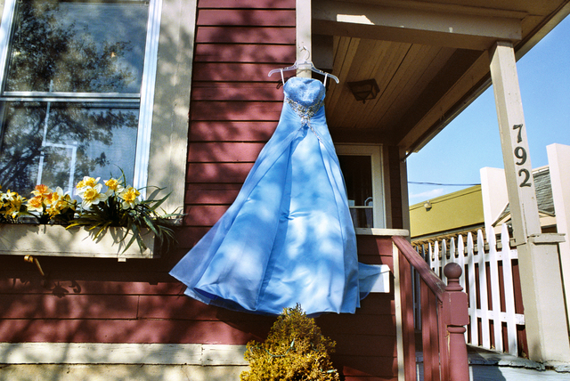 , 'Blue Prom Dress, Rochester, New York,' 2012, Robert Klein Gallery