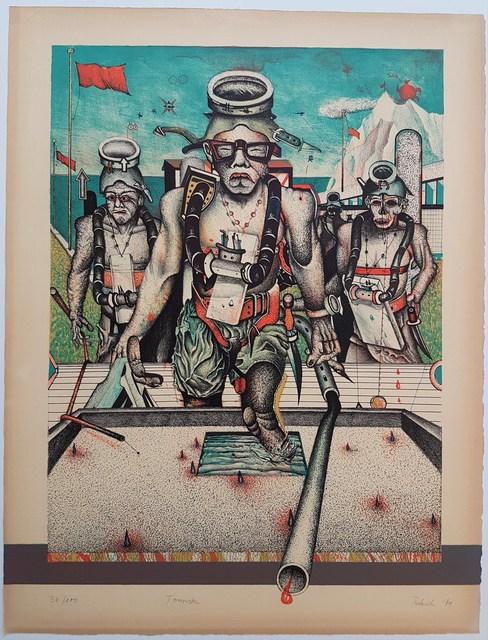 "Wolfgang Petrick, 'Touristen | From Portfolio ""Portrait #13 - Wolfgang Petrick "" with Karin Szekessy', 1971, Cerbera Gallery"