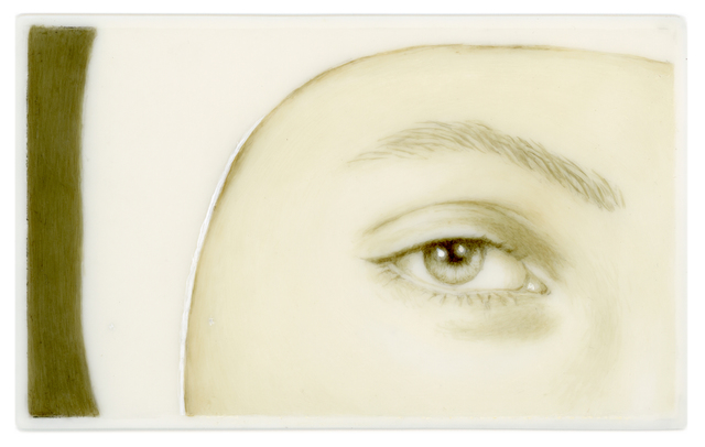 , 'Lover's Eye III: Meret (after Man Ray),' 2013, Clark Gallery