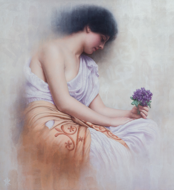 , 'Revisiting Godward's Sweet Violet's,' 2018, Gallery 1261