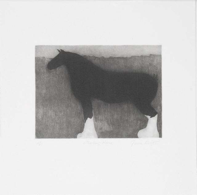Gwendolyn Knight, 'Standing Horse', 1999, Sragow Gallery