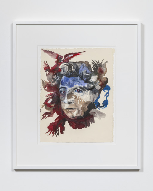 , 'Portrait of Adrienne Rich: Diving into the Wreck,' 2019, Pilar Corrias Gallery
