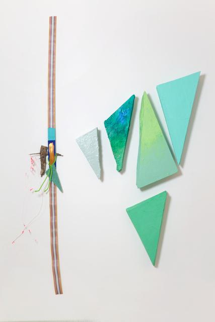 , '# 598 Green Angles,' 2014, Galleria Raffaella Cortese
