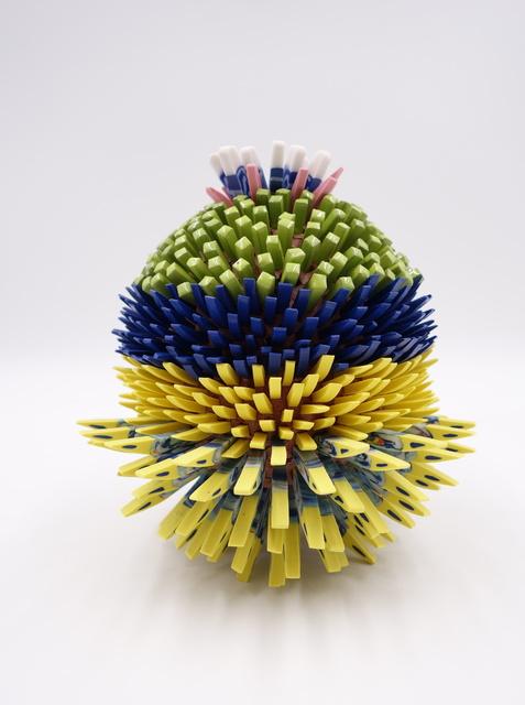 Zemer Peled, 'Small Pua 7', 2020, Sculpture, Porcelain, Mark Moore Fine Art