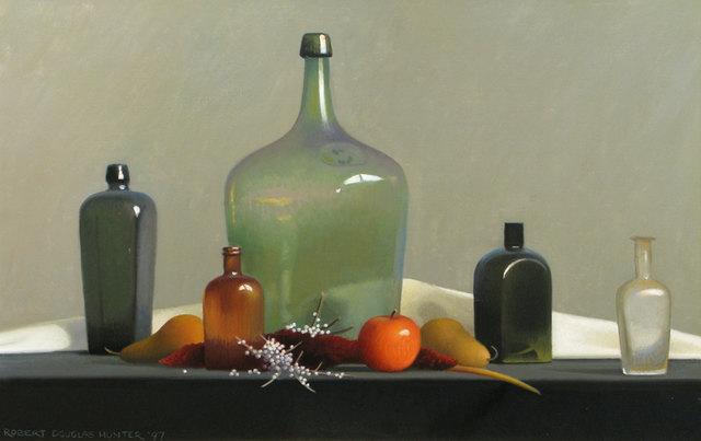 Robert Douglas Hunter, 'Old Bottles and Fruit', 1997, Vose Galleries
