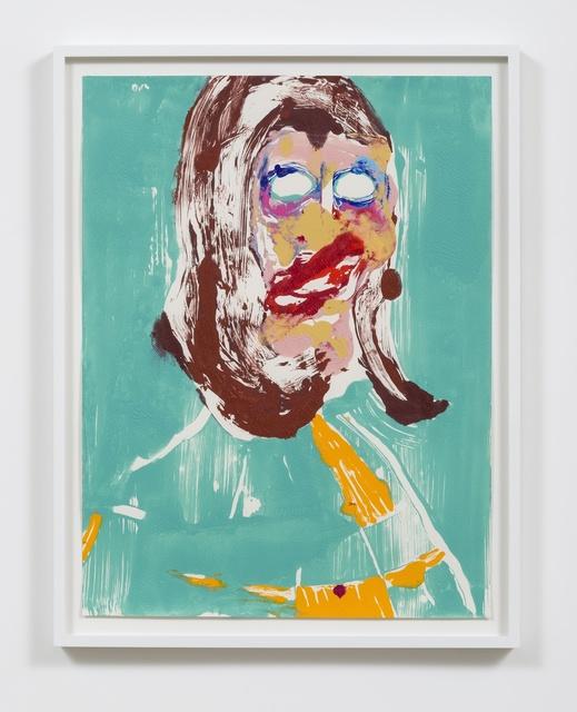 , 'Head #6,' 2016, Rhona Hoffman Gallery