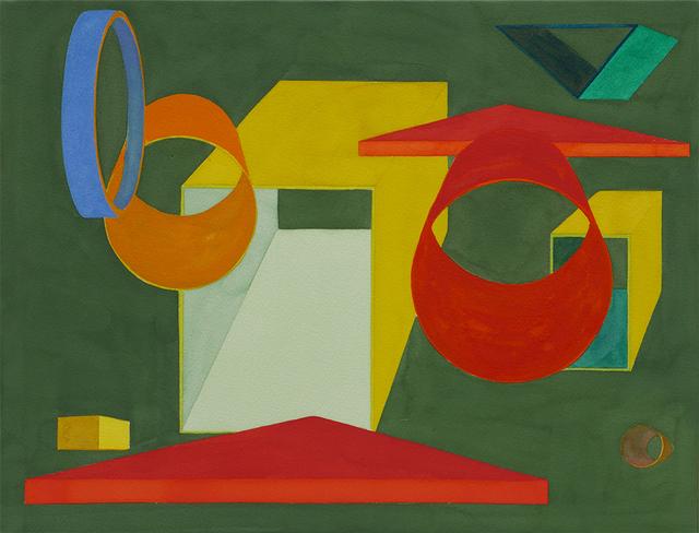Al Held, 'Victoria V', 1991, Nikola Rukaj Gallery