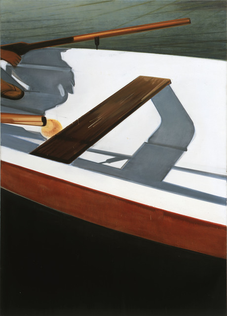 Thoralf Knobloch, 'Ruder und Planke', 2007-2008, Painting, Oil on canvas, Gaa Gallery