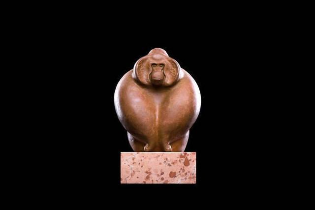, 'Orangutan,' 2016, Galerie Makowski
